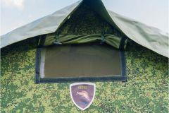 Армейская палатка БЕРЕГ-5М1 4.1х3,5 м. (ОДНОСЛОЙНАЯ)