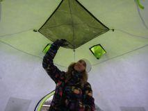 Палатка ЛОТОС Куб Классик С9Т (со съемным утеплителем)