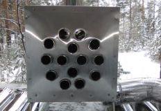 Теплообменник «Вектор-ВУ» (нерж. сталь) 12В