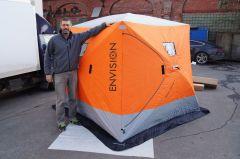 Утеплённая зимняя палатка КУБ Winter Extreme 3
