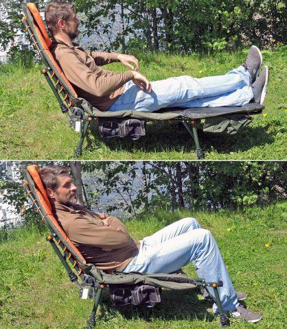 кемпиговое кресло