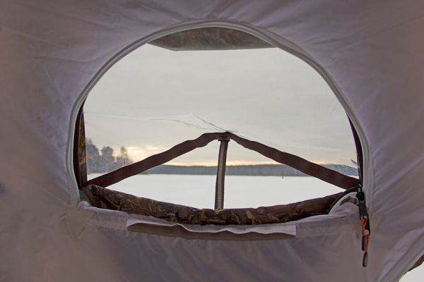 палатка куб берег многослойное окно