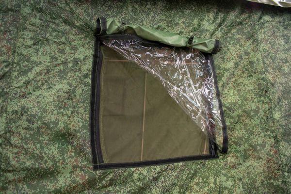 окно армейская палатка Берег 4М2