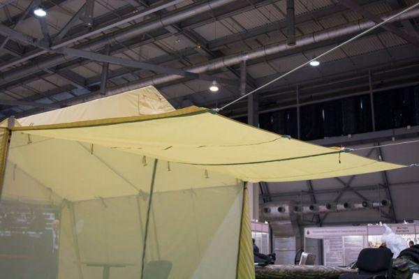 шатер с навесом