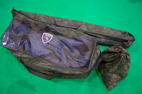 шатер в трех сумках