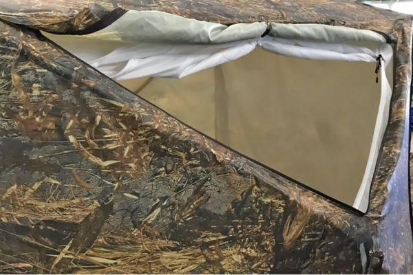вентиляционное окно палатки пентагон