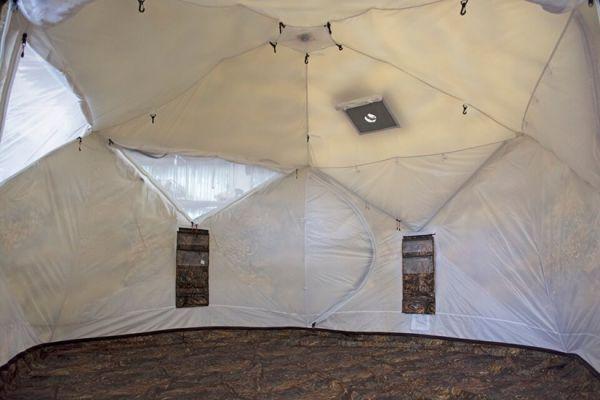 двухслойная палатка пентагон