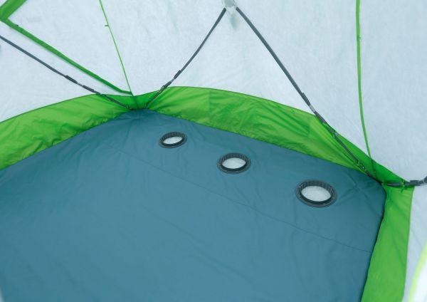 препятствие для затекания воды из лунки на поверхность пола.